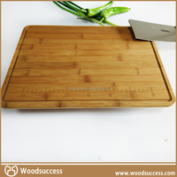 Wholesale cheap Eco-Friendly kitchen Bamboo carving cutting board with drawer