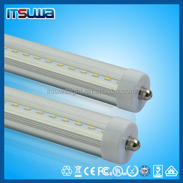long life-span SMD2835 warranty 3 years 8 foot t8 led tube with single pin