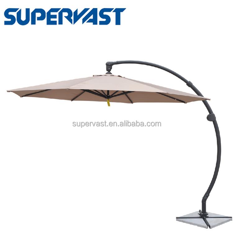 3m Curved Pole Patio Umbrella Parts Suppliers