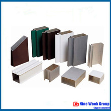 China supplier Types of Aluminum profile with all kind of processing