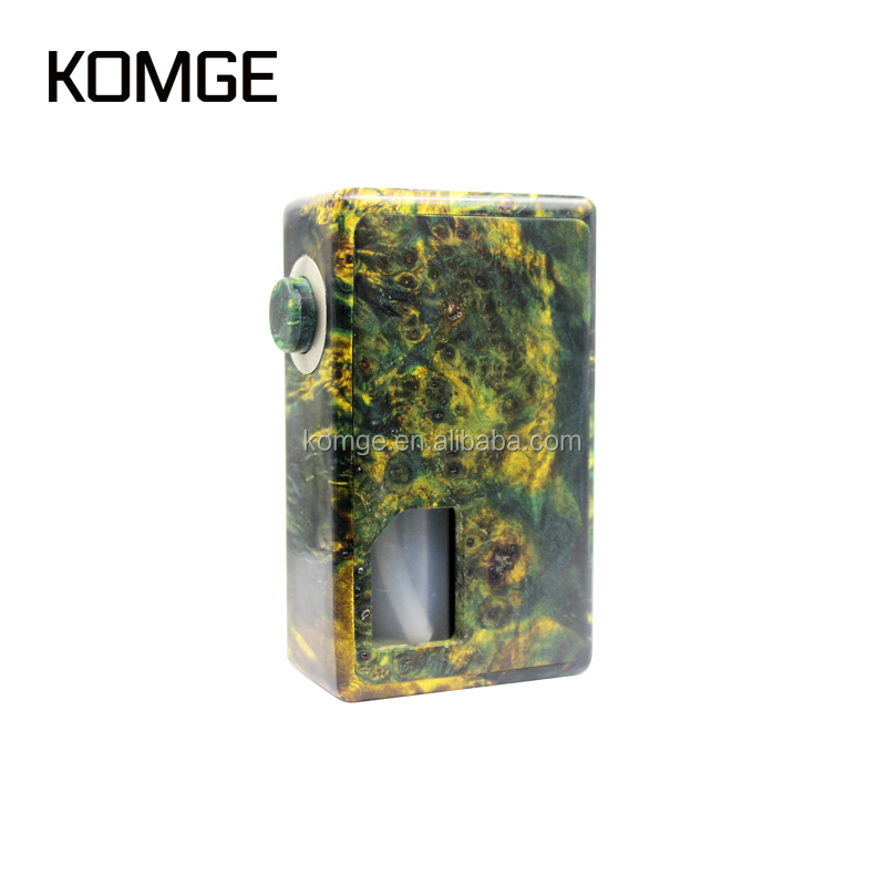 2017 Komge Hot New Wooden BF E Cigarette Vape Mod
