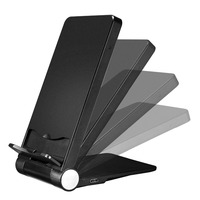 2018 hot new imports foldable fast wireless charging stand for samsung wireless charger for iphone8 plus best selling in USA