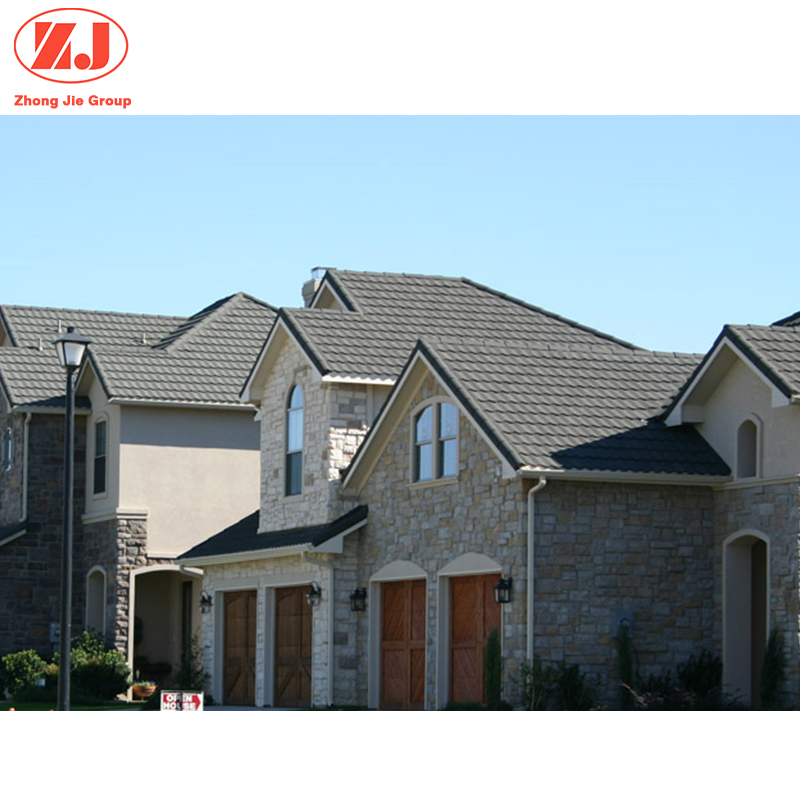 Factory Cheap price chinese clay metal stone coated roof tile