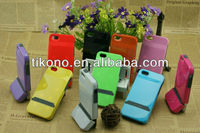 Bright pc plastic hard cover case for iphone5 can be customized