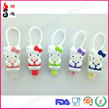 Promotion gifts hot sell hello kitty hand sanitizer pocketbac 3d holders