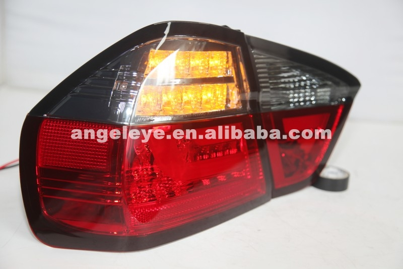 2005-2008 Year For E90 3 Series 320i 323i 325 330 335 LED Tail Lamp Red Black SN