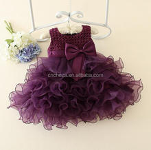 Z54697B Latest Fancy Baby Girls Party Frock Designs for baby girls