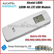 2014 Cheapest Original Unlock LTE FDD 100Mbps Alcatel L800 4G LTE USB Modem