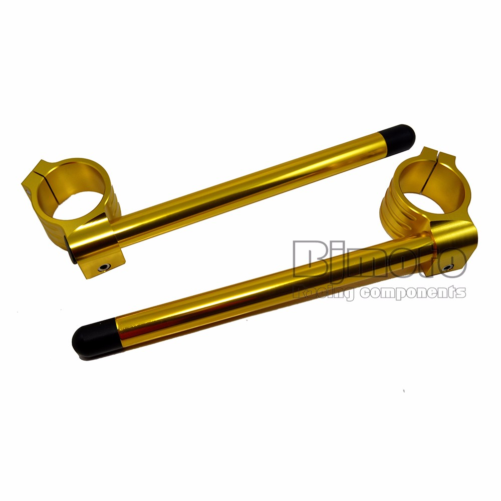 BJ-COHB-037B CNC Aluminum 37mm Raiser Sportbike Clip On Handle Bar for CBR250R