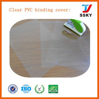 PVC plastic cover hard plastic book cover