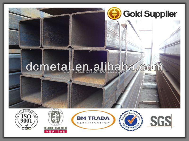 API steel pipe use for construction from TIanjin port square tube/steel pipe/black pipe hot sale
