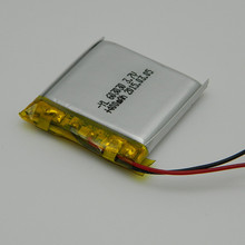 High quality 3.7v 400mah rechargeable lithium-ion battery with yilink / protection board and wires 603030