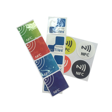 Passive Ntag215 Tag Small Paper NFC RFID Label Sticker