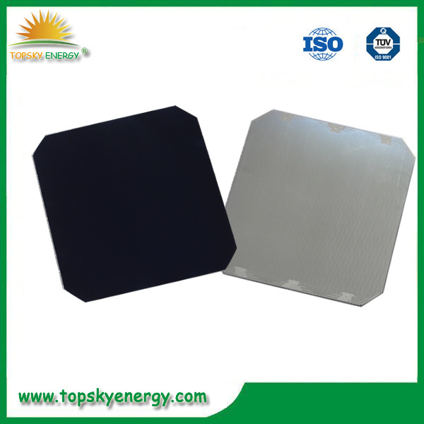 5 inch back contact 21.8%-23.5% sun power solar cells 3.24w-3.51w with dog bones
