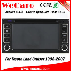Top Version in dash car dvd player with gps for toyota hilux 2007 GPS navigator TV Radio tuner CD Player