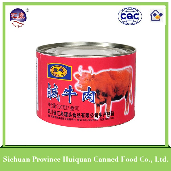 Hot china products wholeale canned corned beef brands