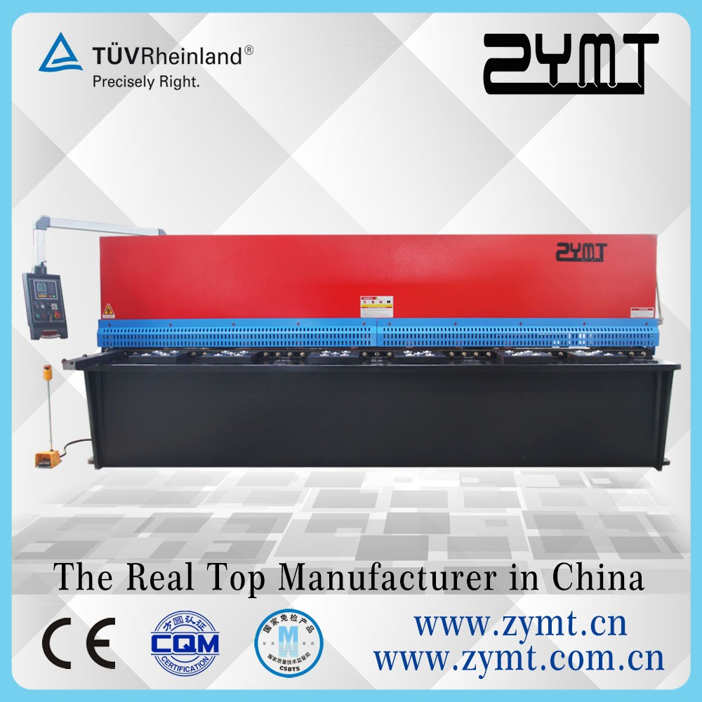 Plate cutting machine,QC12Y/K series hydraulic swing beam shear with good price