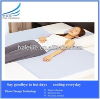 PCM cooling mattress manufacturers for floor and bed