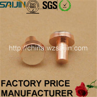 Silver Alloy Rotating Electrical Contacts