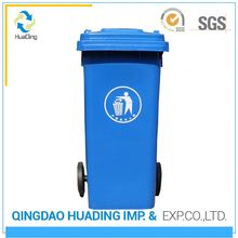 handmade outdoor plastic trash can antique waste bin