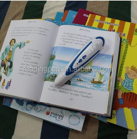 English Book Blutooth Reading Pen Digital Translation Pen For Children