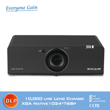 Daylight Outdoor Powerful Advertising 3d Laser Projector for Digital cine