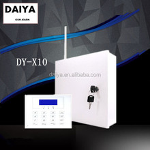 DAIYA security system installation with metal case alarm and touch keypad DY-X10