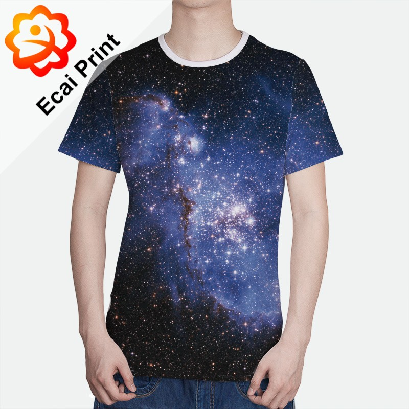 Hot sell sublimation custom design digital printing t Custom t shirt digital printing