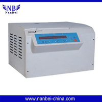 TGLW16 High speed refrigerated micro centrifuge Microprocessor control, digital display indicates the speed, time, RCF