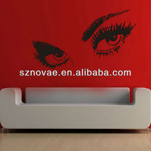 I044 Beautiful Eye Wall Decorative Vinyl Sticker