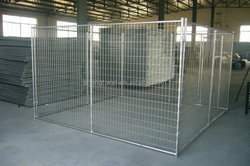 Large stainless steel metal dog houses for wholesale
