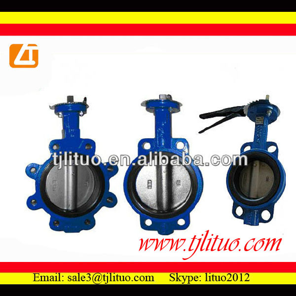 wafer type butterfly valves dn250