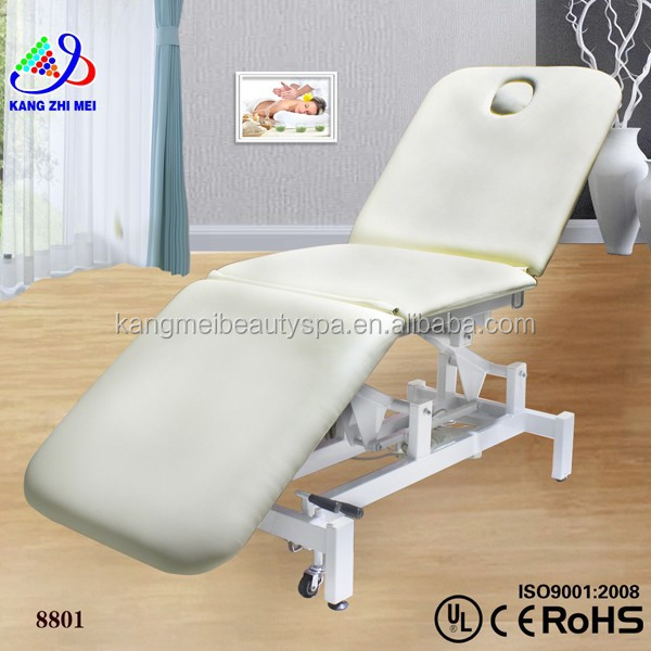 Electric beauty facial bed/beauty facial bed chair/beauty salon bed hydraulic KM-8801