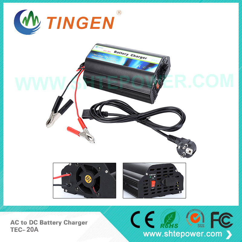 Excellent Performance 20Amp 24V AGM Battery Charger 24V 20A ac to dc battery Charger
