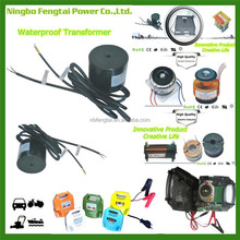 Ningbo Fengtai AC DC Power Supply Power Chargers and Car Accessiorie Waterproof Toroid Transformers