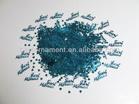 JUST MARRIED TURQUOISE Aqua Wedding Confetti Table Decoration