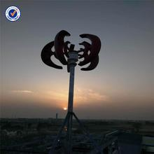 New design 1000w vertical turbine for sale 3.5m/s start-up speed generator the wind solar hybrid power system with high quality