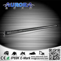 brighter light system reasonable price AURORA 50inch single row motorcycle led driving lights