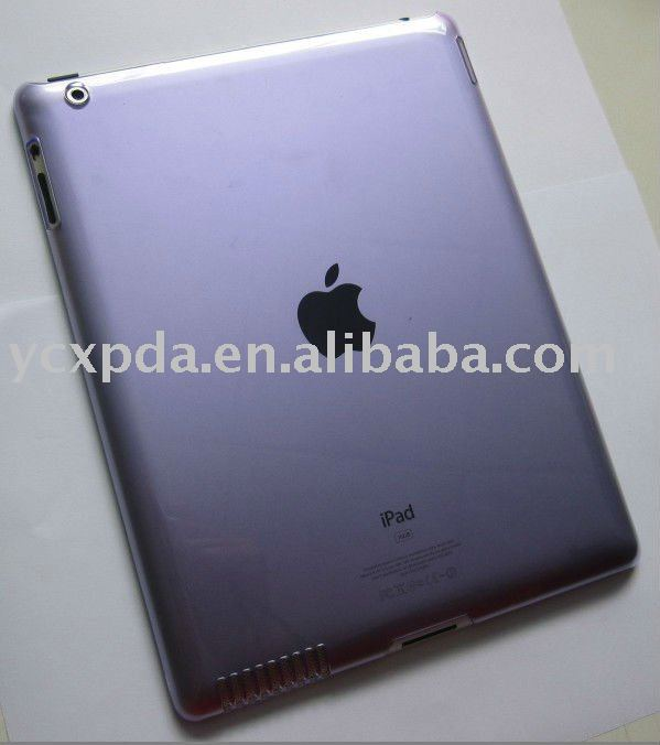 Clear PC Hard Case Cover Skin For iPad 2 iPad2