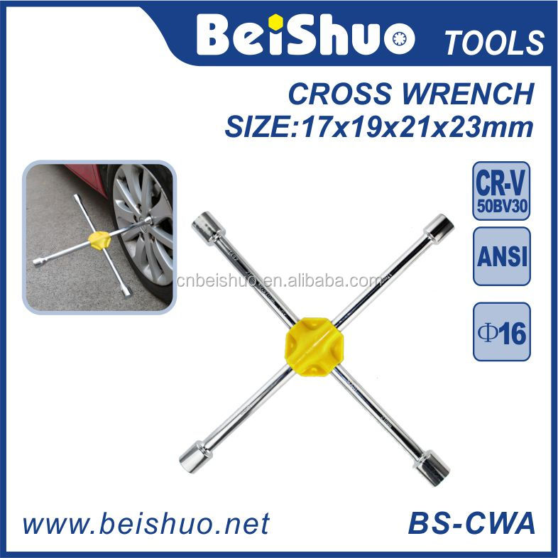 Tire Cross Rim Wrench Socket Spanner