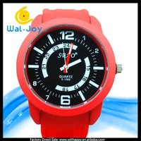 WJ-4486 Popular high quality candy colors jelly China brand SBAO big dial unisex silicon sport watch