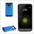 Hot Selling Slim Hybrid Shockproof Brush Dual Layer Armor Case Cover For LG G5