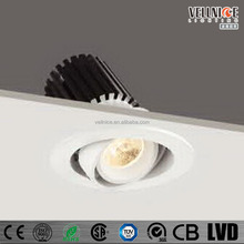 7W Led Can Lights COB 3000K Chip Led Recessed Light Trim
