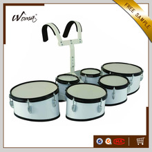Sixtuple Cheapest Marching Tom Drums With Holder