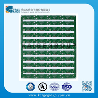 blue rigid PCB , electronic circuit board for solar power system made in china