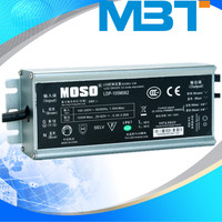 105W ac100~270V 0.14-1.04A constant current IP67 waterproof led driver for street light mbt