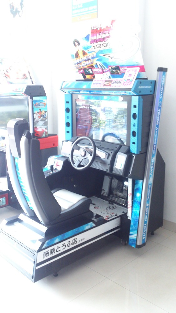 Papular Game Zone D5 Racing Game Machines from Mantong