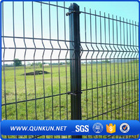 2016 new product garden fences/polyester coating roll top fence