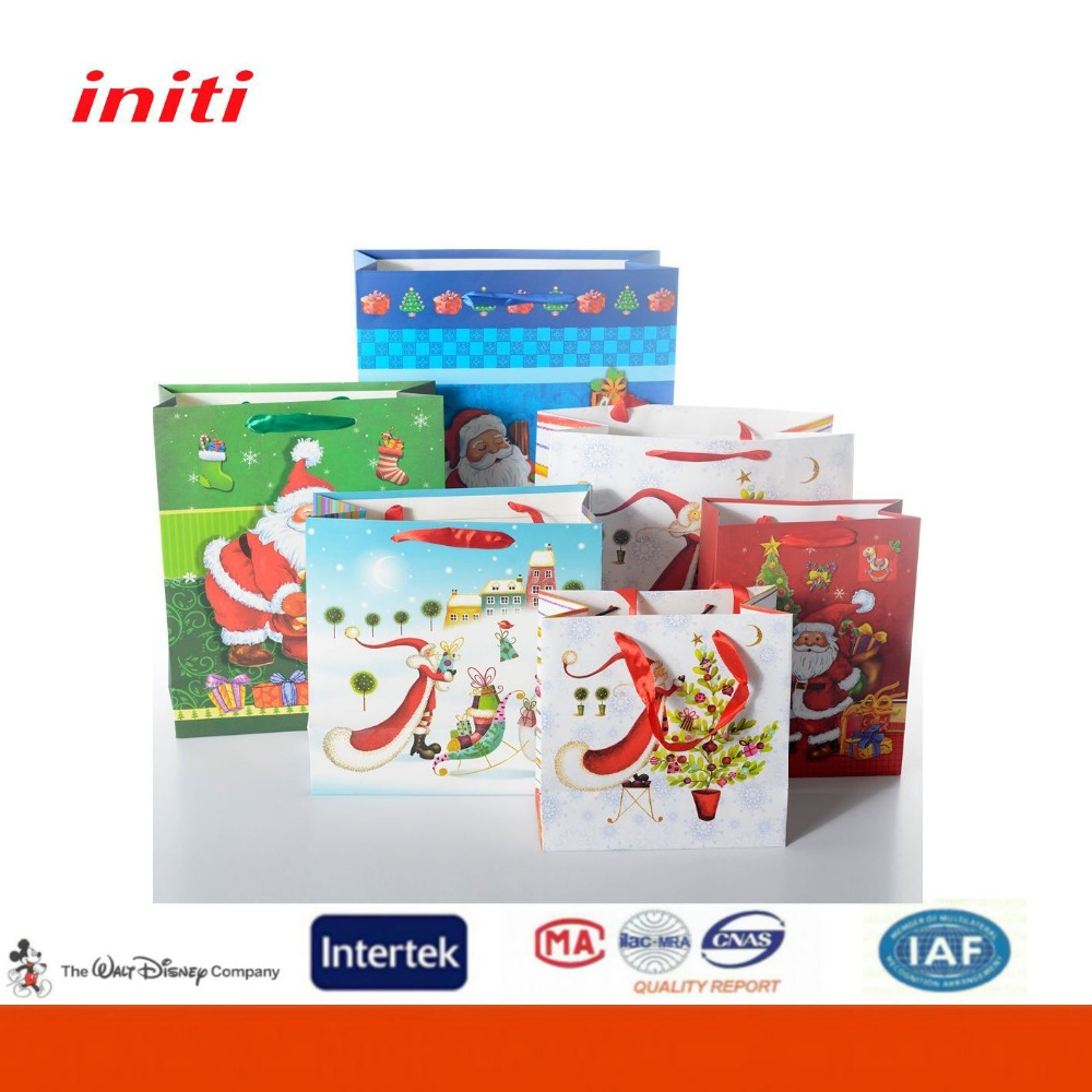 INITI Factory Wholesale quality garment paper bag