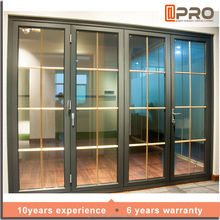 Auto Room Excellent Double Glazing As2047 Insulated Rosort Hotel Prefab House Exterior Or Interior Accordion Folding Door